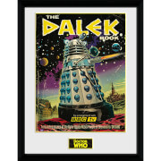 Doctor Who the Dalek Book - 16 x 12 Inches Framed Photograph