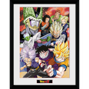 Dragon Ball Z Cell Saga - 16 x 12 Inches Framed Photograph