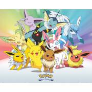 Pokémon Eevee - 40 x 50cm Mini Poster
