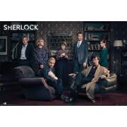 Sherlock Cast - 61 x 91.5cm Maxi Poster
