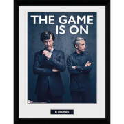 Sherlock the Game Is On - 16 x 12 Inches Framed Photograph