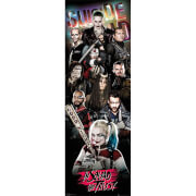 Suicide Squad Collage - 53 x 158cm Door Poster