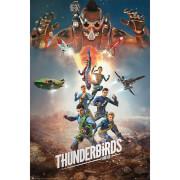 Thunderbirds Are Go Collage 2 - 61 x 91.5cm Maxi Poster