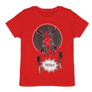 Deadpool - Did Someone Say Tacos? T-Shirt - Rot