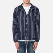 FILA Blackline Men's Austin Pinstripe Coach Jacket - Peacoat