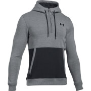 Under Armour Men's Threadborne 1/2 Zip Hoody - Grey/Black