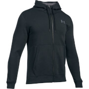 Under Armour Men's Threadbone FZ Hoody - Black/Red