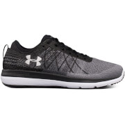 Under Armour Men's Threadborne Fortis Running Shoes - Black/Grey