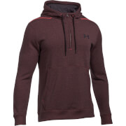 Under Armour Men's Threadborne 1/2 Zip Hoody - Black/Orange