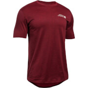 Under Armour Men's Sportstyle Core T-Shirt - Burgundy