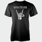 Whatever Skeleton Hands Black T-Shirt