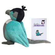 Jaiden Ari The Dog Plush And Pin Bundle