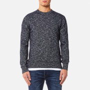 Edwin Men's Standard Sweater - Navy Flamme