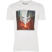 Jack & Jones Men's Originals Watch T-Shirt - Cloud Dancer