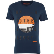 Jack & Jones Core Men's Octopus T-Shirt - Sargasso Sea