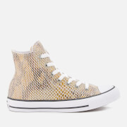 Converse Women's Chuck Taylor All Star Hi-Top Trainers - Natural/Black/White