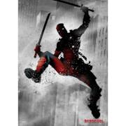 Marvel Comics Metal Poster - Dark Deadpool (32 x 45cm)