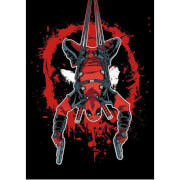 Marvel Comics Metal Poster - Deadpool Hang in There (32 x 45cm)