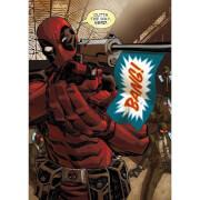 Marvel Comics Metal Poster - Deadpool Outta the Way Nerd (32 x 45cm)
