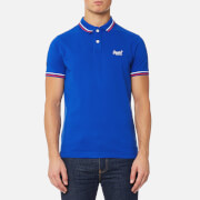 Superdry Men's Classic Tipped Pique Polo Shirt - Dark Cobalt