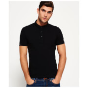 Superdry Men's Classic City Polo Shirt - Black