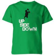 My Little Rascal Kids Up Side Down Green T-Shirt