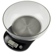 Salter Precision Electronic Kitchen Bowl Scale - Black - 3kg