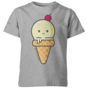 How To Cook That Kawaii Ice Cream Kids' T-Shirt - Grey