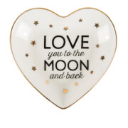 "Sass & Belle ""Love You To The Moon & Back"" Heart Schmuck-Teller"