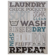 Laundry Wall Plaque