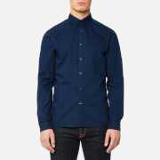 Calvin Klein Men's Gallen Washed Oxford Shirt - Ink Blue