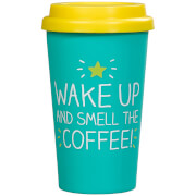 Happy Jackson Wake Up and Smell the Coffee Travel Mug