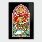 Nintendo Legend of Zelda Rapier Chromalux High Gloss Metal Poster