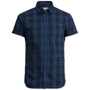 Jack & Jones Originals Fischer Short Sleeve Shirt - Total Eclipse Marl