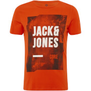 Jack & Jones Men's Core Profile T-Shirt - Poinciana