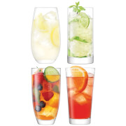 LSA Lulu Highball Glasses (Set of 4)