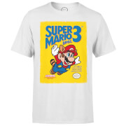 Nintendo® Super Mario Bros 3 Heren T-shirt - Wit
