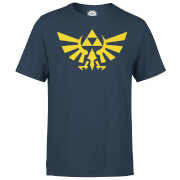 Nintendo The Legend Of Zelda Hyrule Men's Navy T-Shirt