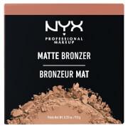 NYX Professional Makeup Matte Bronzer (Various Shades) (ニックス プロフェッショナル メイクアップ マット ブロンザー) (多色)