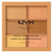 NYX Professional Makeup 3C Palette - Conceal, Correct, Contour – Medium