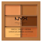 NYX Professional Makeup 3C Palette - Conceal, Correct, Contour - Deep