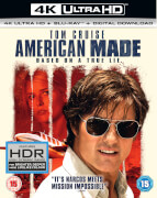 American Made - 4K Ultra HD (Includes Blu ray + Digital download)