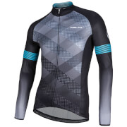 Nalini Merak Long Sleeve Jersey - Black/Grey