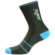 Nalini Gamma Compression Socks - Black/Blue
