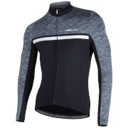 Nalini Dubhe Long Sleeve Thermo Knit Jersey - Black/Grey