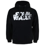 Star Wars Men's The Last Jedi Rebel Text Logo Hoody - Black