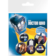 Doctor Who New Badge Pack