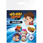 Yo-Kai Watch Mix Badge Pack