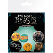 Fantastic Beasts and Where To Find Them Mix Badge Pack