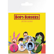Bob's Burgers Mix Badge Pack